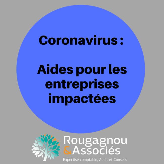 Coronavirus aides entreprises